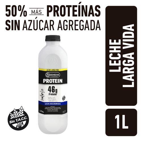 Leche Protein La Serenisina Botella Larga Vida 1l