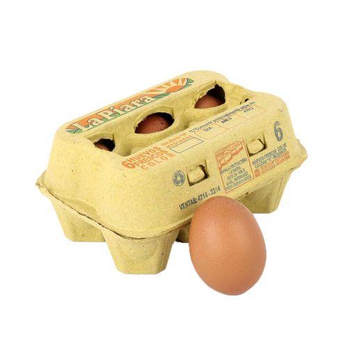 Huevos Color La Piara X 6u Carton
