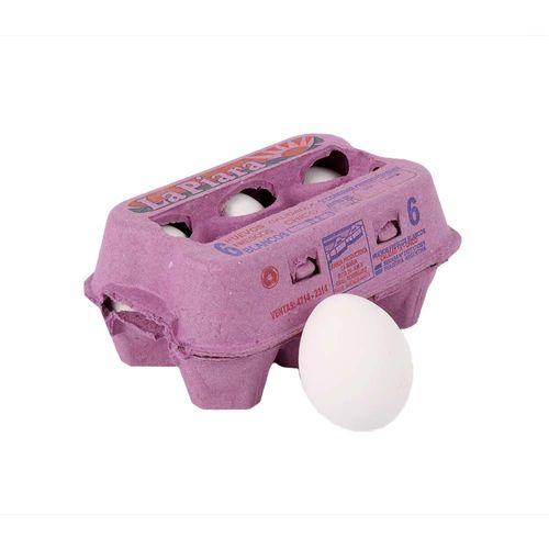 Huevos Blancos La Piara X6u  Carton
