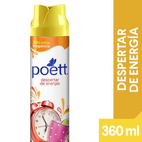 Desodorante De Ambiente Poett Despertar De Energía 360 Ml