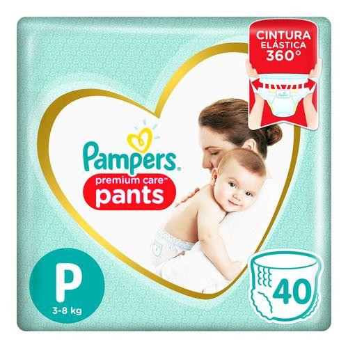 Pañales Pampers Premium Care Pants P 40 Un
