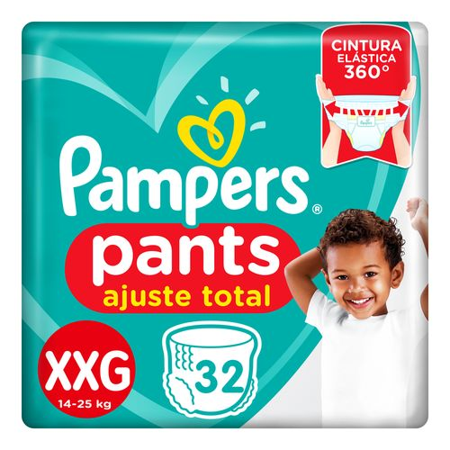 Pañales Pampers Pants Ajuste Total Xxg 32 Un
