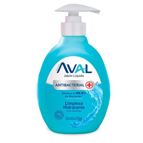 Jabon Antibac Aval Limp Hidrata