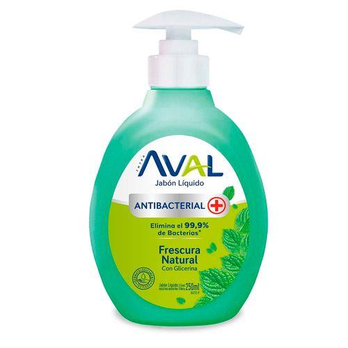 Jabon Antibac Aval Frescura Inten