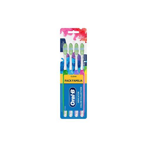 Cepillos Dentales Oral-b Clean Indicator Color Collection Suave 4 Un
