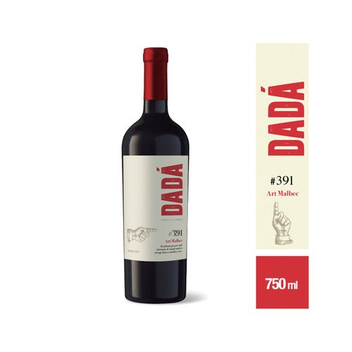 Vino Tinto Dadá Art 391 Malbec 750 Cc