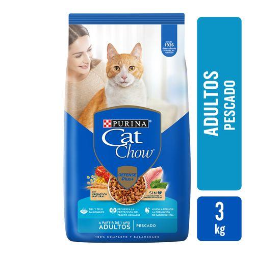 Alim Cat Chow Sin Col Adt Pescado 3k
