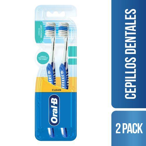 Cepillo Dental Oral-b Indicator 2 Unidades