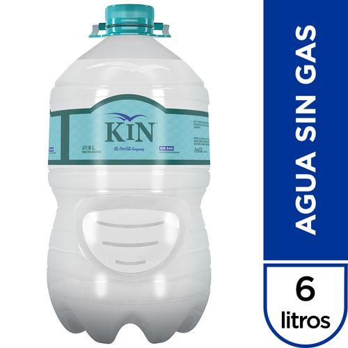 Agua De Mesa Kin Sin Gas 6 Lt