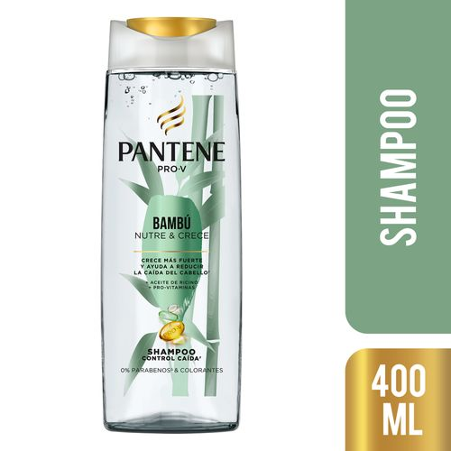 Shampoo Pantene Pro-v Bambú 400 Ml