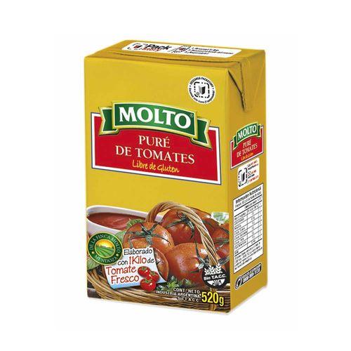 Pure De Tomate Molto Slim X 520g