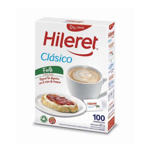 Endulzante Hileret Clasico Forte X 100 Sobrec