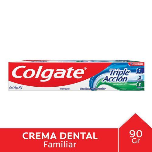 C.dental Colgate Triple Acción 90gr