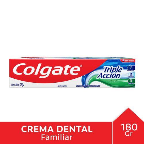 C.dental Colgate Triple Acción 180gr