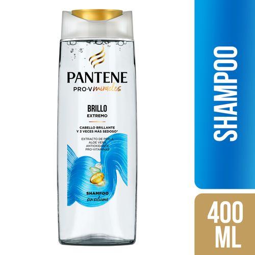 Shampoo Pantene Brillo 400ml