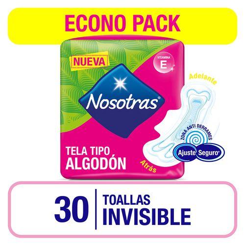 Toalla Nosotras Invisible Vit E X30un
