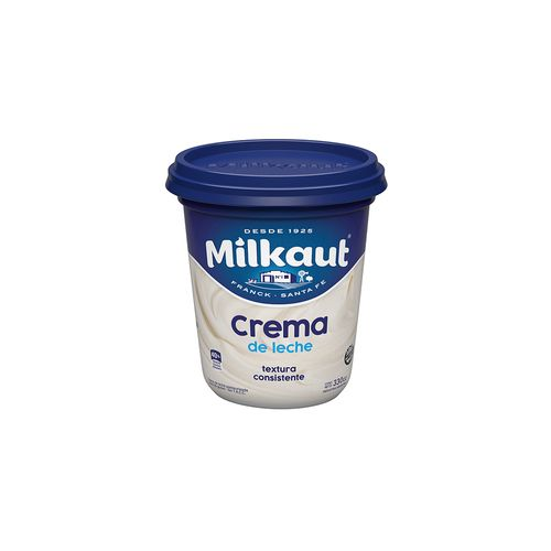 Crema De Leche Milkaut X 330gr