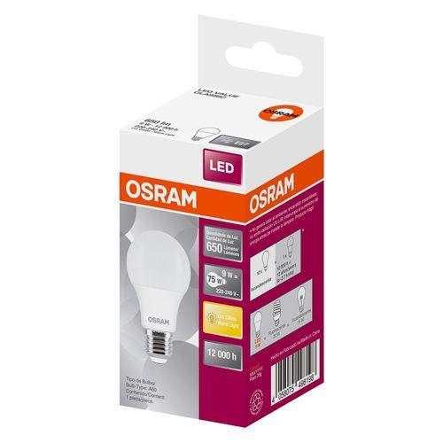 Lámpara Osram Led Valueclas 9w/830 Calidas