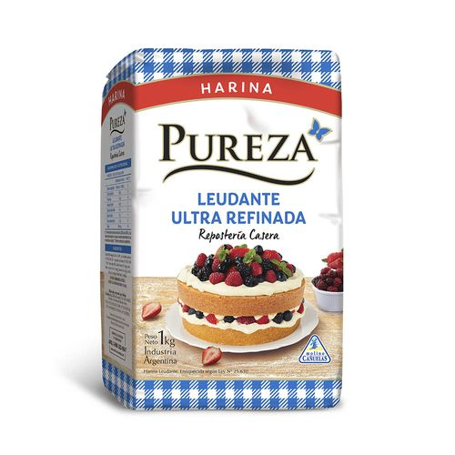 Harina Pureza Leudante Ultra Refinada 1 Kg