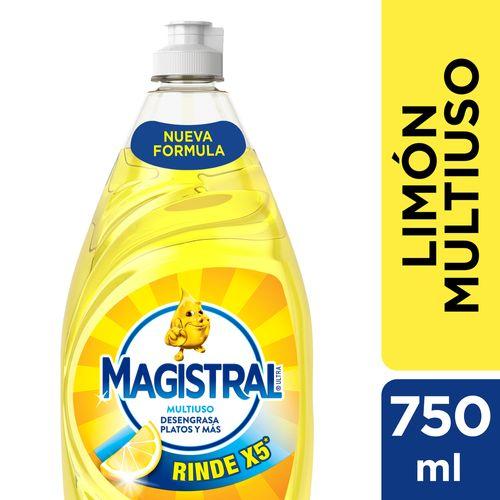 Lavavajillas Magistral Limon 750ml