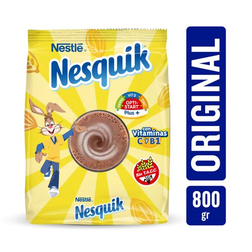 Nesquik Polvo Chocolate Sin Tacc 800 Gr