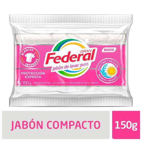 Jabon Compacto Gran Federal 150g X 1u