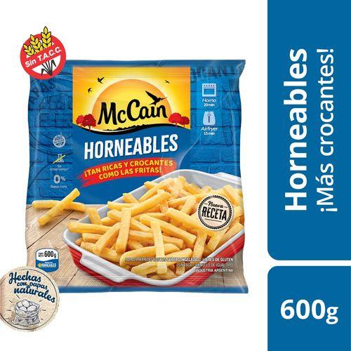 Papas Horneables  Mc Cain  X 600 Gr