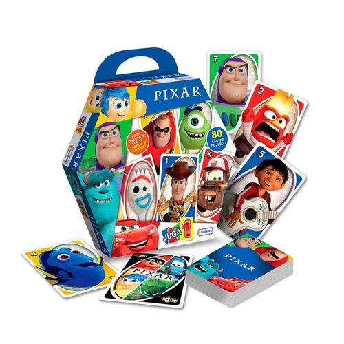 Juego De Cartas Juega 1 Pixar -tapimovil