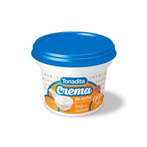 Crema Tonadita Baja En Lactosa 200 Gr