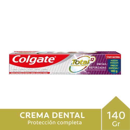 C.dental Colgate Total 12 Encias R 140gr