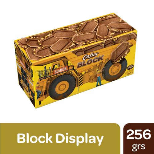 Chocolates Cofler Block 256g