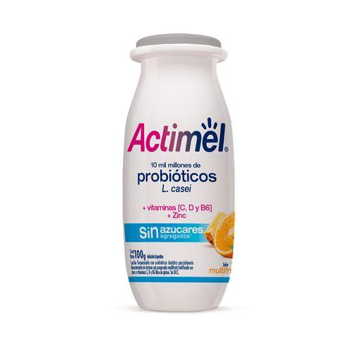 Actimel 0% Multifruta 100 Gr