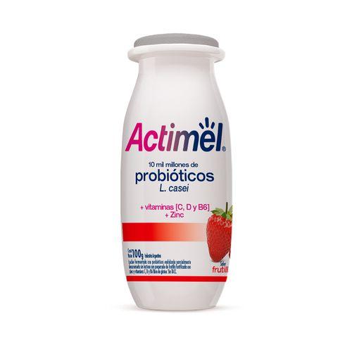 Actimel Entero Frutilla X 100 Gr
