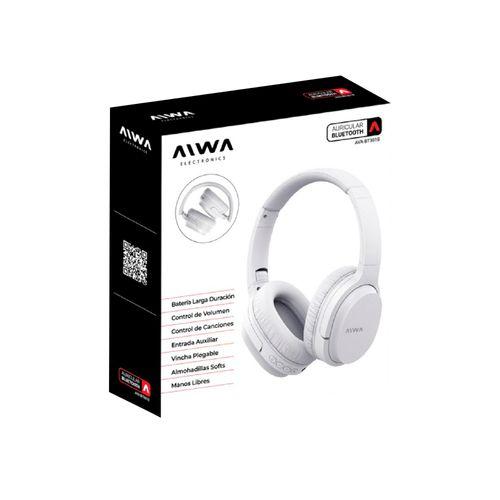 Auricular Aiwa Vincha Blanco Ava-bt301b
