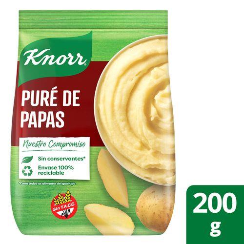 Puré De Papas Knorr Listo X200g
