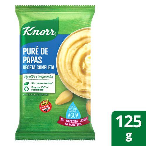 Puré De Papa Knorr Listo Receta Completa 125 G
