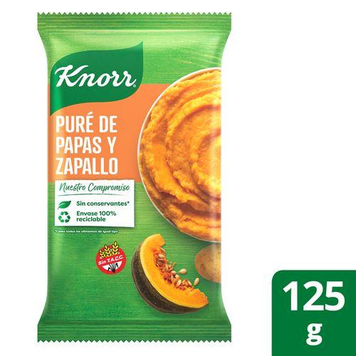 Puré Papa Y Zapallo Knorr Listo 125g