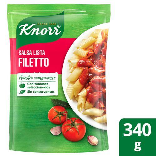 Salsa Knorr Filetto 340g