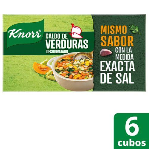 Caldo Knorr En Cubos De Verduras 6 Unidades