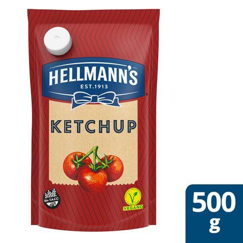 Ketchup Hellmann´s C/tomate 500gr