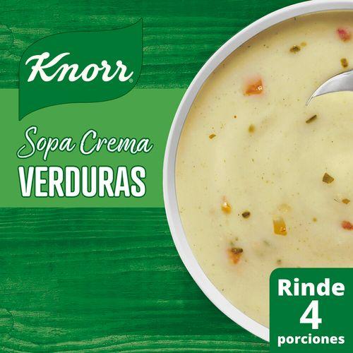 Sopa Crema Knorr Verduras 60 G