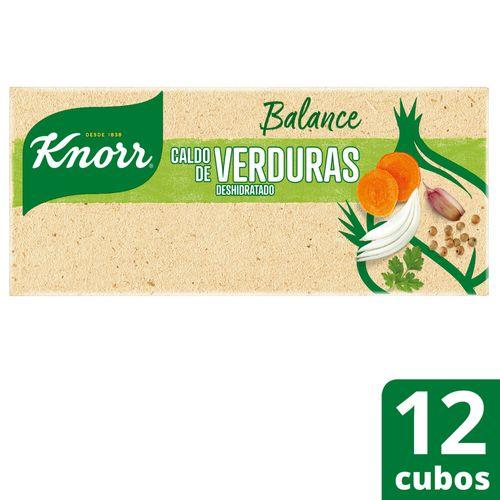 Caldo Knorr Balance Verduras 9,5g