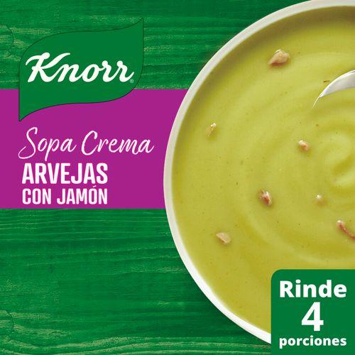 Sopa Knorr Crema Arv/jam 64g