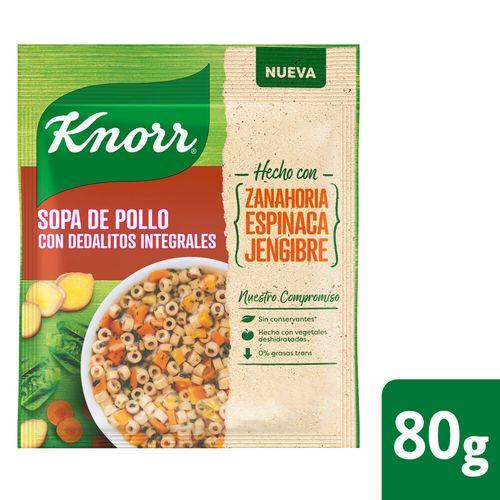 Sopa Knorr Pollo Cdedalitos Integ 80g