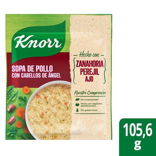 Sopa Knorr Pollo Ccabello Angel 105,6g