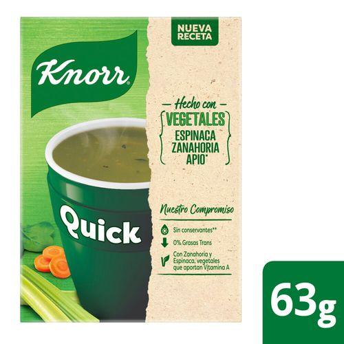 Sopa Knorr Quick Vegetales 5 Sob