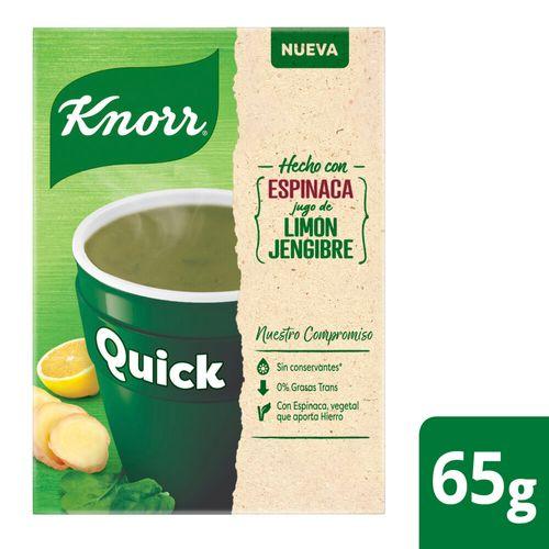 Sopa Knorr Quick Espinaca 5 Sob