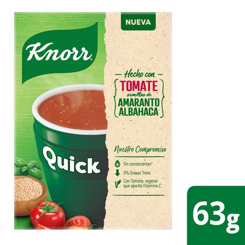 Sopa Knorr Quick Tomate 5 Sob