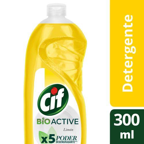 Detergente Cif Desengr Limon Bio Active Bot 300ml