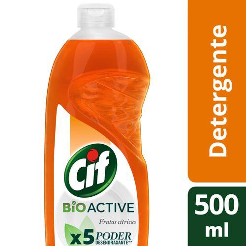 Detergente Cif Citricos Bio Active Botella 500ml